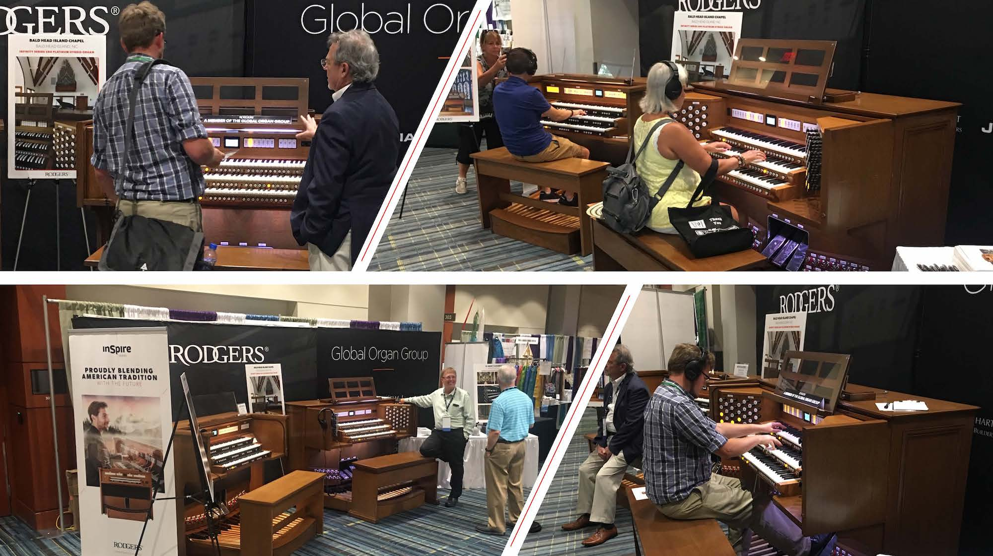 Rodgers and the Global Organ Group attended the 41st annual NPM